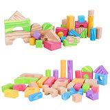 Schuim bouwstenen 100 stuks, blokken, bouwstenen_