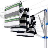 Aluminium Droogmolen, waslijn, wasdroger, energiezuinig_