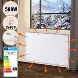 Elektrische verwarming, infrarood verwarming, paneelverwarming, verwarmingsplaat, 580 watt, stofvrij, warmtepaneel_