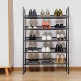 Schoenrek, metaal, schoenenrek, opbergrek, opbergmeubel, 5 etages_