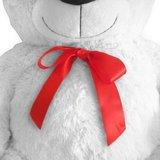Teddybeer 150 cm, Valentijnsdag,  knuffelbeer, Teddy XXL, knuffel, 150cm beer, wit..._