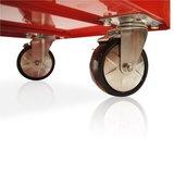 Gereedschapswagen met 7 laden, breed - S47 serie Rood_