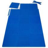 Vloermat, fitnessmat, puzzelmat, ondergrond, sportmat 180 x 90_