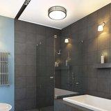 Plafondlamp, wandlamp, plafonnier, plafondarmatuur, wandarmatuur, rvs, badkamerverlichting_