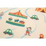 Dubbelzijdige ABC speelmat 200 x 150 cm, Circus_