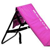 Strandmat met rugleuning, roze, strand bed, ligbed_