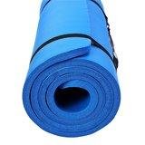 Yoga mat blauw, 190x100x1,5 cm, fitnessmat, pilates, aerobics_