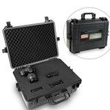 Fotokoffer met schuim, 35 liter,camerakoffer, water- en stofdicht, outdoor, kunststof_