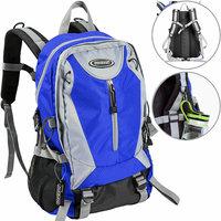 Rugzak 40 L blauw, outdoor, wandelrugzak