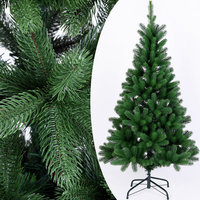 Kerstboom, 140 cm, groen, kunstkerstboom, standaard