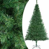 Kunstkerstboom 150 cm, kerstboom, groen, met standaard