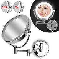 Cosmetica spiegel, scheer spiegel, 10x vergrotende spiegel