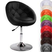 Draaibare Chesterfield lounge stoel in 10 verschillende kleuren