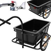 'Retourzending' Aanhangwagen Fietsaanhanger Bagagekar fietskar 90 Liter