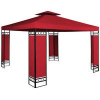 Paviljoen Partytent (3x3), Lorcana, Rood