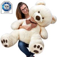 Teddybeer, Valentijnsdag, knuffelbeer, Teddy XL, 100cm, knuffel, beer beige 100 CM !!!!!