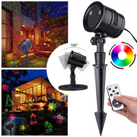 LED Laser projector lamp, lichteffect, kerstmis, winter, kerstversiering