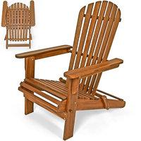 Bear Chair, Opvouwbaar, tuinstoel, relaxstoel, tuinstoel, Acaciahout