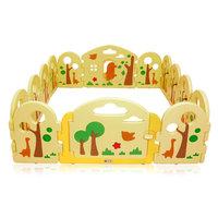 Grondbox, kruipbox, speelbox, playpen, baby, peuter en kind afscherming - Forest