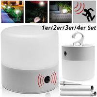 LED tuinverlichting met bewegingsmelder, tuinlamp, ophanghaak, ook voor binnenshuis