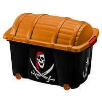 Opbergbox, speelgoedkist Piraat, 50 liter, opbergkist