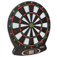 Elektronisch dartbord inclusief toebehoren, zwart, rood, groen, wit
