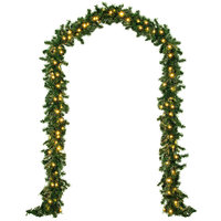 Kerstslinger, 80 led 's voor binnen & buiten, 5 meter