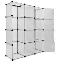 ''Tweede kans artikel'' Opbergmeubel, kast, boxenkast, 115 x 150 cm, Transparant