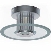 Plafondlamp, wandlamp, 40 watt, sfeerverlichting, glasplaat rond, plafondspot, muurspot