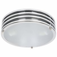 Plafondlamp, wandlamp, plafonnier, plafondarmatuur, wandarmatuur, rvs, badkamerverlichting