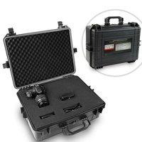 Fotokoffer met schuim, 35 liter,camerakoffer, water- en stofdicht, outdoor, kunststof