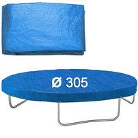 Afdekhoes trampoline, 305 cm, regenhoes trampoline