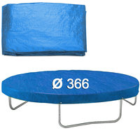 Afdekhoes trampoline, 366 cm, regenhoes trampoline