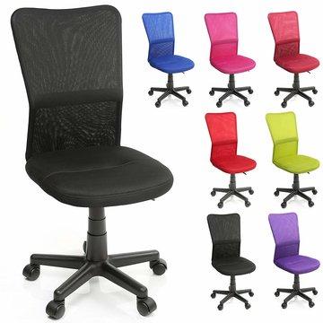 Kinderbureaustoel, zwart, kinder burostoel, ergonomische kinderstoel