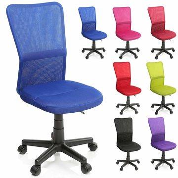 Kinderbureaustoel, blauw, kinder burostoel, ergonomische kinderstoel