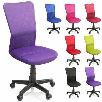 Kinderbureaustoel, lila, kinder burostoel, ergonomische kinderstoel