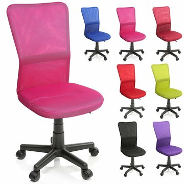 Kinderbureaustoel, roze, kinder burostoel, ergonomische kinderstoel