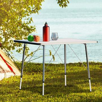 Campingtafel, in hoogte verstelbaar, opvouwbaar