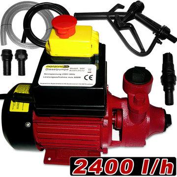 Dieselpomp, oliepomp, vloeistofpomp 2400 L/H