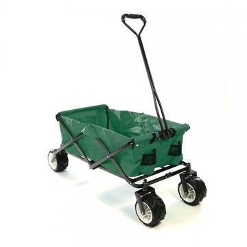 Bolderkar, transportkar, opvouwbaar, groen, offroad