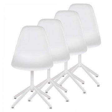Designerstoel eetkamerstoel Beez Go set van 4 stuks