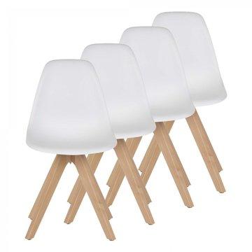 Designerstoel eetkamerstoel Beez Up set van 4 stuks