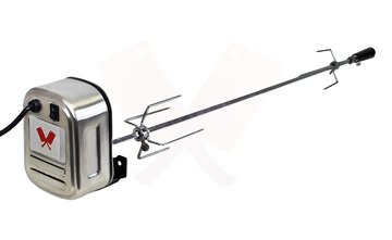 Motor voor spit, barbeque, lamsgrill, varkensgrill inclusief grillspies