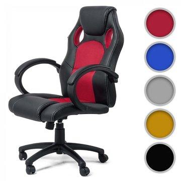Bureaustoel, kantoorstoel, directie, racing stoel, in 5 uitvoeringen