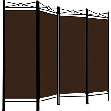 Kamerscheidingswand, scheidingswand, kamerscherm, Bruin