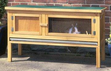 Konijnenhok, hok voor konijn, cavia en andere knaagdieren