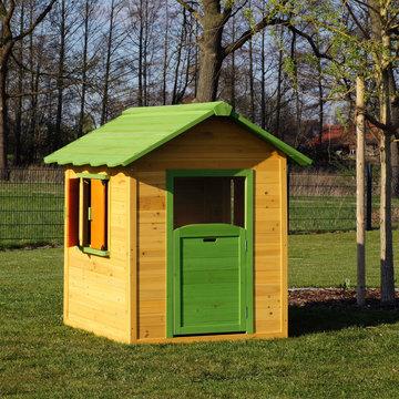 Kinderhuis, speelhuis, tuinhuis