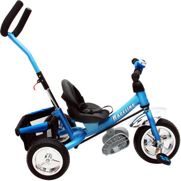 kinder driewieler met stuurstang