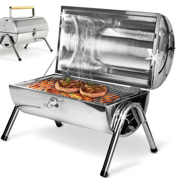 Compacte en draagbare BBQ, grill, barbecue