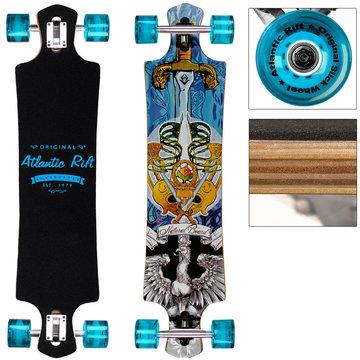 Longboard, skateboard Original Atlantic Rift Blauw 107 cm